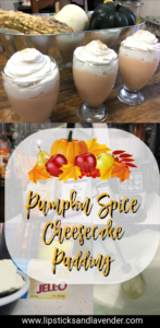 Check out this sugar free Pumpkin Spice Cheesecake Pudding Recipe from Lipsticks&Lavender and enter to win your own set of Pumpkin Skinny Syrup! #keto #sugarfree #giveaway Keto Dessert Recipe // Sugar Free pumpkin Recipe // Ketogenic Diet