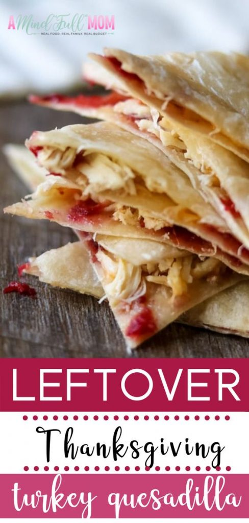 Left over Thanksgiving Turkey? Try this twist on the Quesidilla!